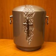 UK121 Gránit keresztes urna