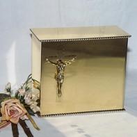 Gold iker keresztes urna