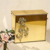 Gold iker rózsás urna