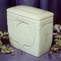 Iker arany keresztes urna