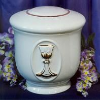 Kerek arany kehely urna