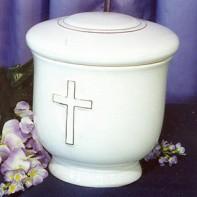 Kerek arany keresztes urna