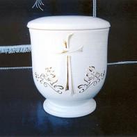 Kerek liliom urna