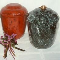 Marbelua kerek urna