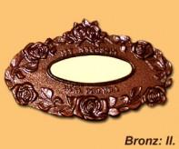 Bronz sírjelző II.