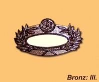 Bronz sírjelző III.